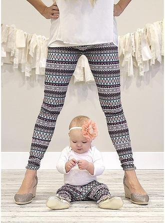 Maman et moi Striped Correspondant à Pantalon