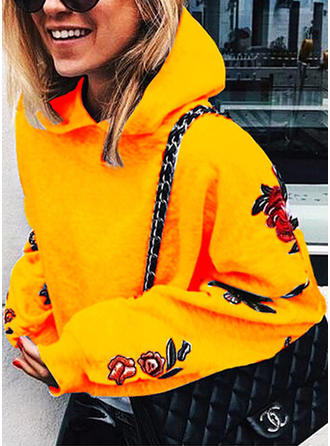 Cotton Embroidery Hoodie