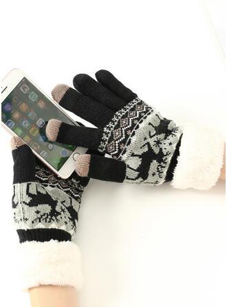 Χριστούγεννα/Αποτύπωμα ζώου Προστατευτικός/Ανετος/Χριστούγεννα Γάντια