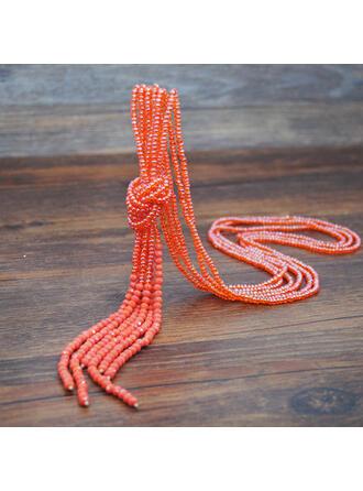 Einzigartig Prächtig Modisch Kristall Halsketten