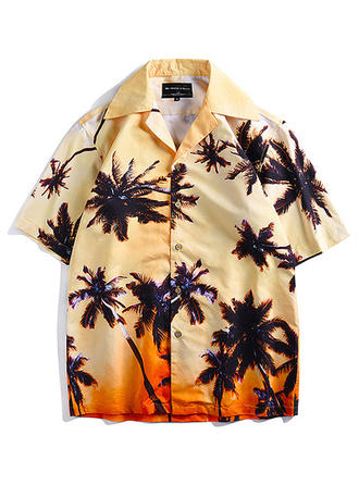 Heren Hawaiiaans Strand shirts