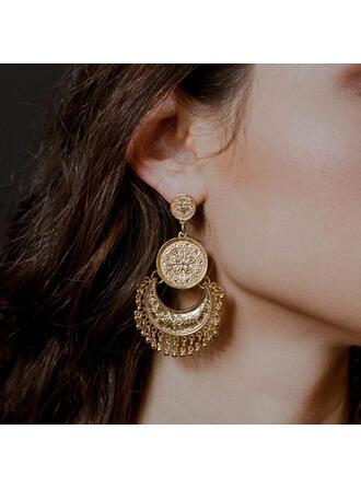Eksotisk Vintage Legering øreringe