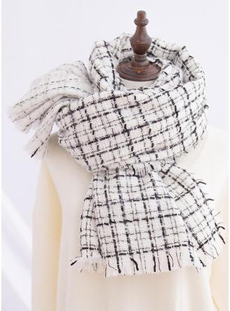 Plaid/Tassel attraktiv/Koldt vejr Halstørklæde