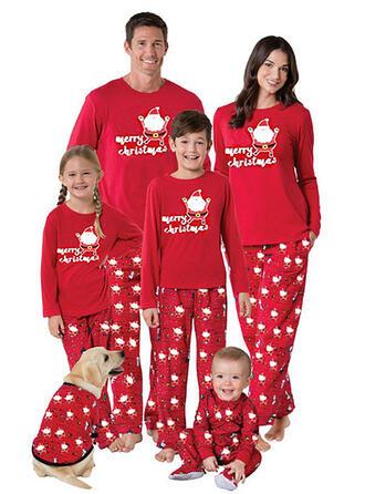 Papai Noel Família Combinando Natal Pijama