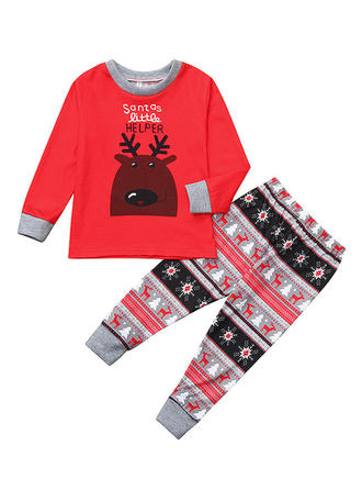 Deer Matching Family Christmas Pajamas