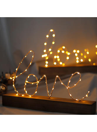 Romantic Wood Decorative Objects