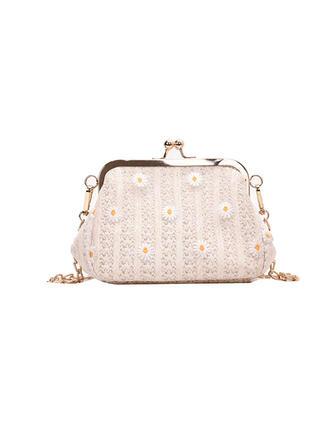 Elegant/Niedlich/Vintage/Blumen/Geflochten Handtaschen/Schultertaschen