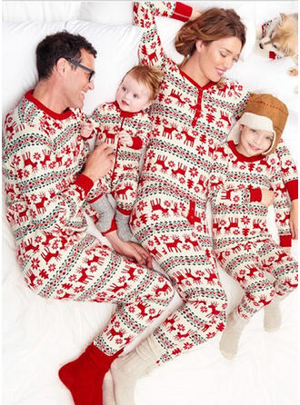 Reindeer Matching Family Christmas Pajamas