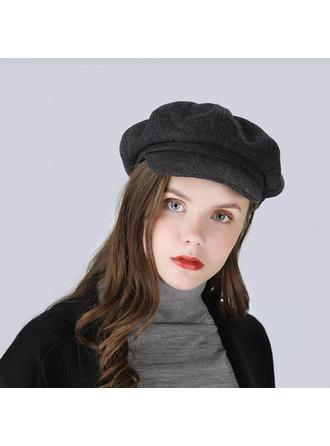 Dames Mode/Spécial Acrylique/de mélanges de laine Béret Chapeau