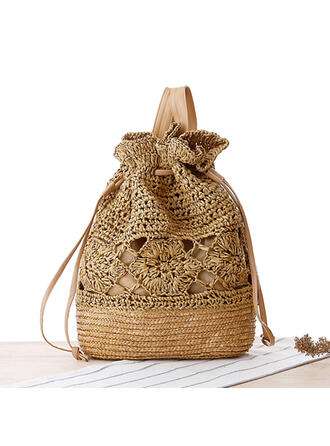 Geflochten Papier Seil Strandtaschen/Beuteltaschen