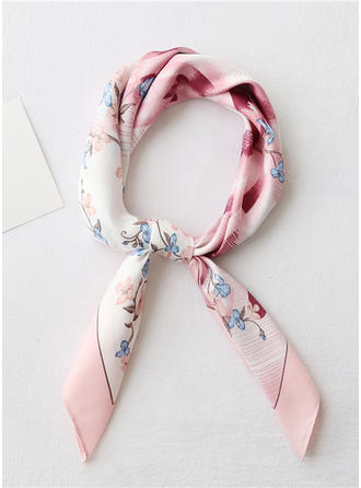 Floral Square/Light Weight Square scarf