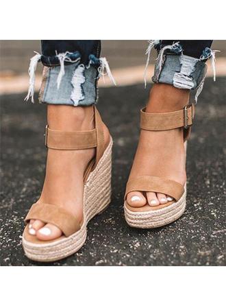 Ante Tipo de tacón Sandalias Cuñas Encaje Tacones con Otros zapatos
