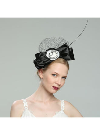 Glamourous/Elegant/Simple/Eye-catching/Fancy/Romantic/Artistic Polyester With Feather Fascinators