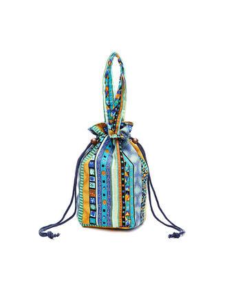 Schattig/Vintage/Stripe/Bohemian stijl Schouder Tassen/Portefeuilles & horlogebandjes/Emmerzakken
