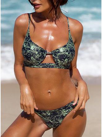 Coloré Armature À Bretelles À La Mode Bikinis Maillots De Bain