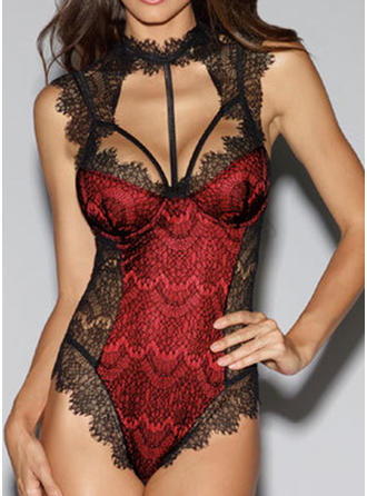 Nylon Lace Teddy