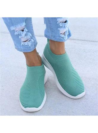 Women's Cloth Fabric Casual Outdoor With Elastic Band shoes