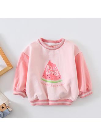 Bébé & Bambin Fille Pastèque Coton Sweat-Shirt