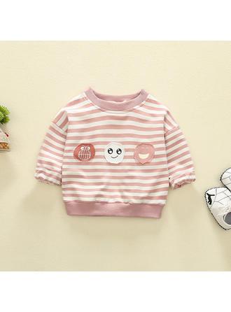 Bébé & Bambin Fille Striped Coton Sweat-Shirt