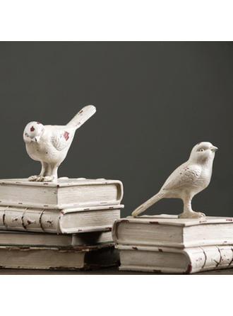 Casual Resina Pájaro Sujetalibros