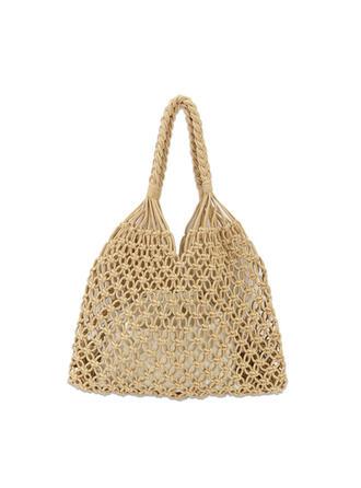 Vintage/Böhmischer Stil/Geflochten Tragetaschen/Strandtaschen