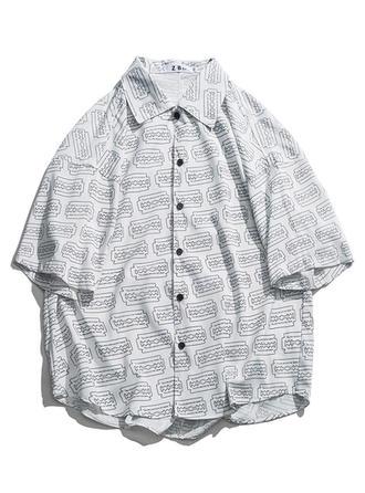 Asculino havaiano Camisas da praia