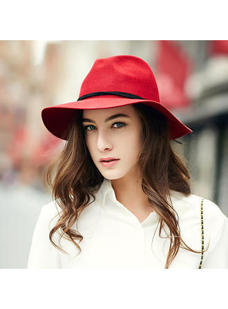 Dames Mode/Spécial Acrylique/de mélanges de laine Chapeau melon / Chapeau cloche