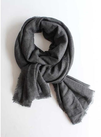 Solid Color/Tassel simple/Cold weather Scarf