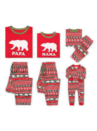 Bear Matching Family Christmas Pajamas