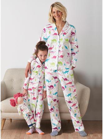 Maman et moi Inmprimé Correspondant à Pyjama De Noël