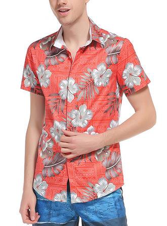 Pour des hommes Floral Chemises de plage