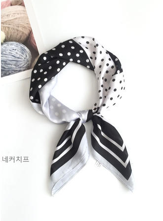 Polka Dots Square/Light Weight Square scarf