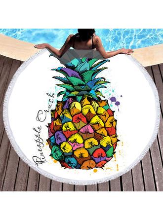Food Oversized/round Beach Towel