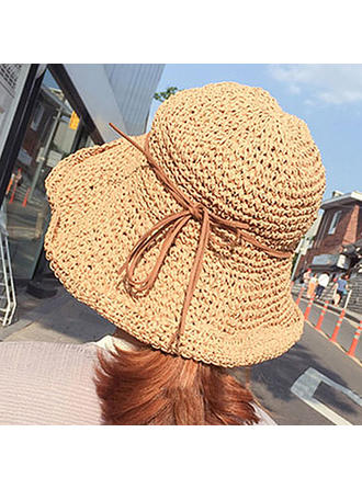 Ladies' Beautiful/Lovely Rattan Straw Beach/Sun Hats