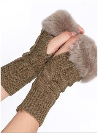 Effen kleur mode/eenvoudig handschoenen