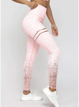 Print Long Long Skinny Print Yoga Leggings