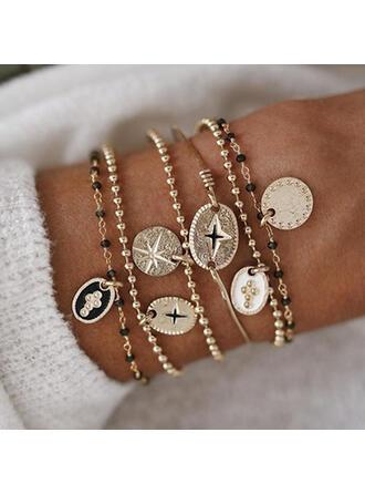 Stijlvol Legering Sieraden Sets Armbanden (Set van 6)