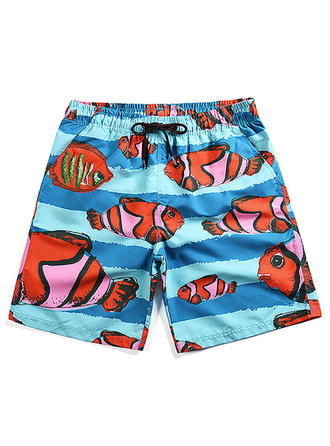 Herr fisk Board Shorts