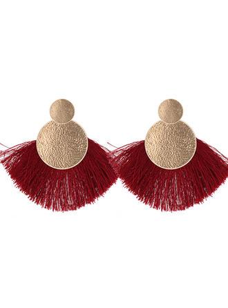Beautiful Alloy With Tassels Women's Fashion Earrings