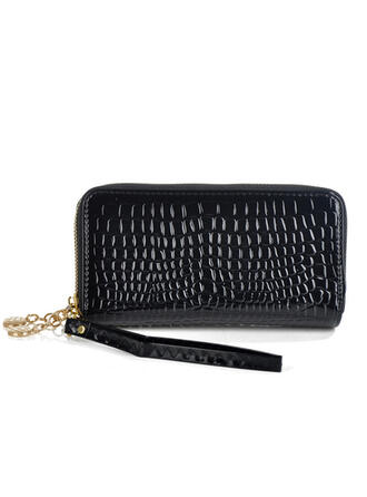 Charming/Classical/Alligator Pattern Clutches/Wallets & Wristlets