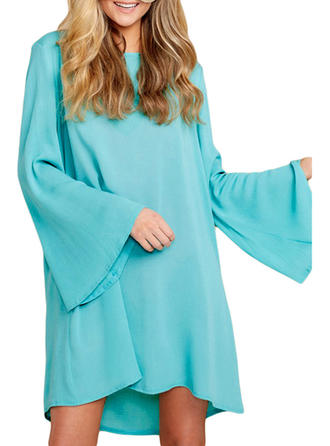 Long Sleeve Round Neck Sexy Bohemian Cover-ups Swimsuits