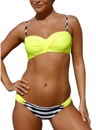 Coloré À Bretelles Sexy Bikinis Maillots De Bain