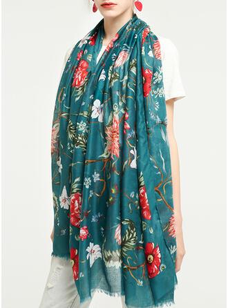 Bloemen/Retro /Wijnoogst/Tassel lichtgewicht/te groot/aantrekkelijk/mode Sjaal