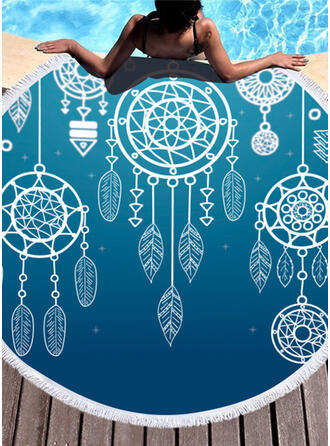 Dreamcatcher Boho Beach Towel