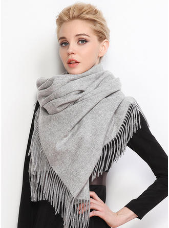 Solid Color Oversized/Shawls/attractive Wool/Acrylic Scarf