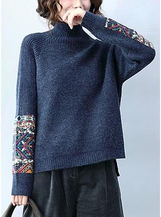 Bawełna Golf Wydrukować Swetry