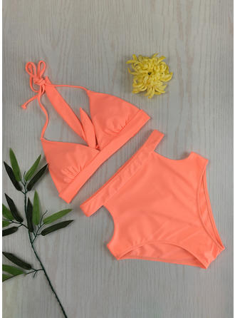 High Waist String Strap Sexy Bikinis Swimsuits