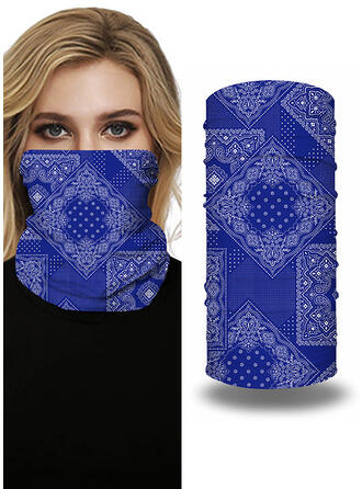 Face Masks/Print/Face Bandana/Magic Scarf/Headwrap Balaclava Breathable/Protective/Full Coverage/Multi-functional/Seamless/Dust Proof Bandanas
