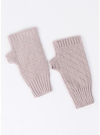 Effen kleur eenvoudig/Koud weer handschoenen
