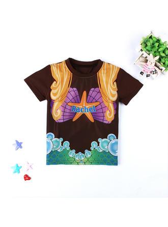 Bébé & Bambin Fille Imprimé Bande Dessinée T-shirt